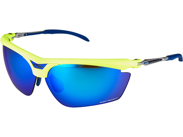 Rudy Project Magster Glasses yellow fluo multilaser blue